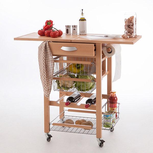 Кухонный разделочный стол-тумба Arredamenti - GASTONE NATURAL