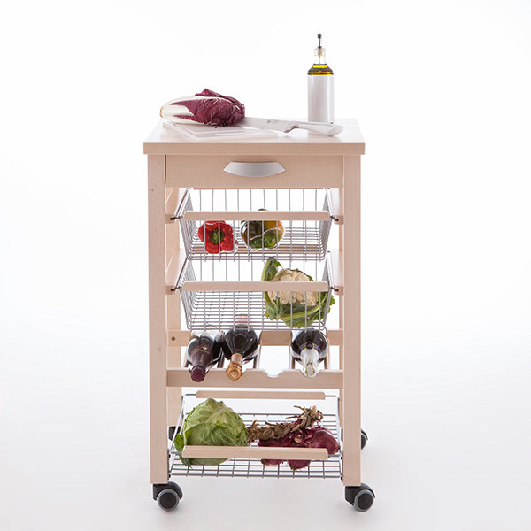 Кухонный разделочный стол-тумба Arredamenti - ARTURO WHITENED