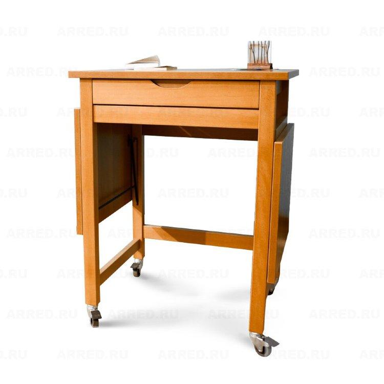 Раскладной компьютерный стол Arredamenti - LIONELLO CHERRY