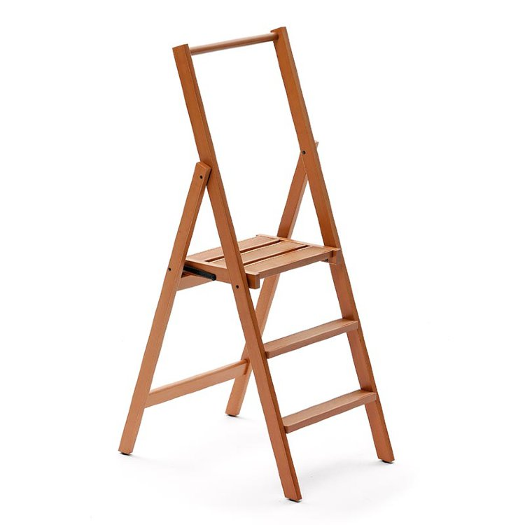 Деревянная лестница - стремянка 3 ступени Arredamenti - KIMORA