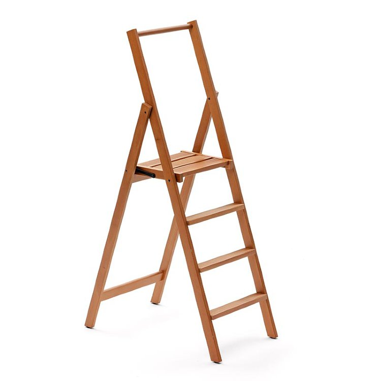Деревянная лестница - стремянка 4 ступени Arredamenti - KIMORA
