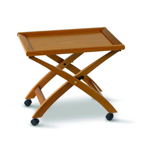 Стол сервировочный складной на колесиках Arredamenti - BILLY CHERRY