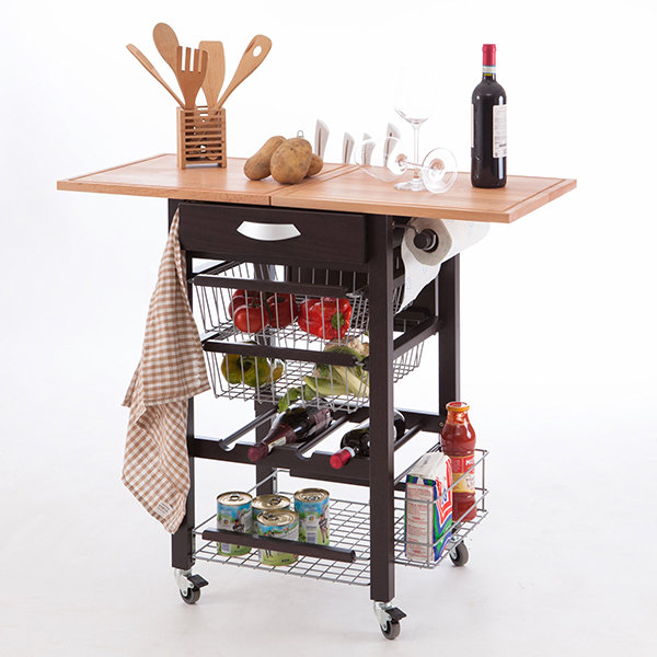 Кухонный разделочный стол-тумба Arredamenti - GASTONE WENGE