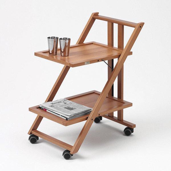 Стол сервировочный складной на колесиках Arredamenti - SIMPATY CHERRY