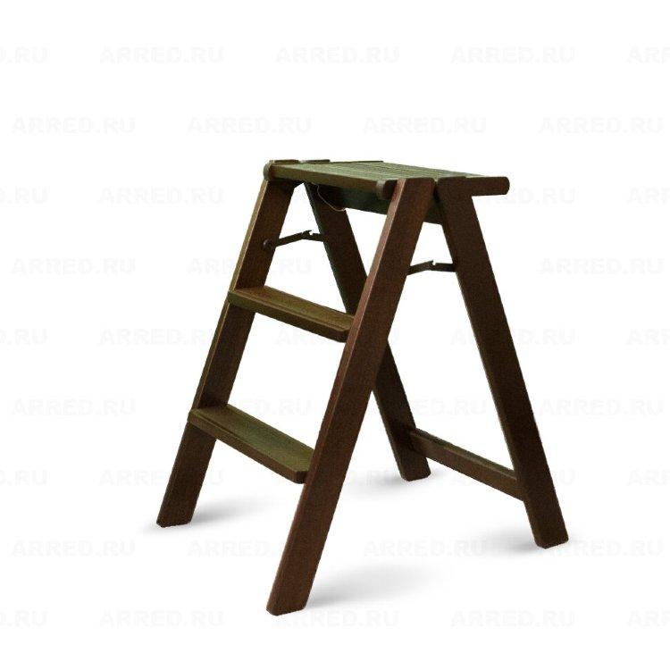 Деревянная лестница - малая стремянка 3 ступени Arredamenti - OSIMO CANALETTO