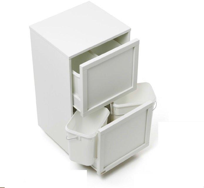 Приемник для отходов Arredamenti - MADERA 4 BIANCO