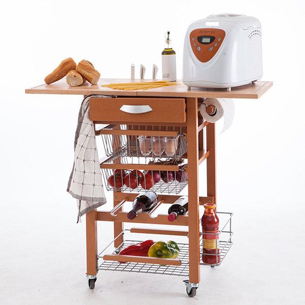 Кухонный разделочный стол-тумба Arredamenti - GASTONE CHERRY