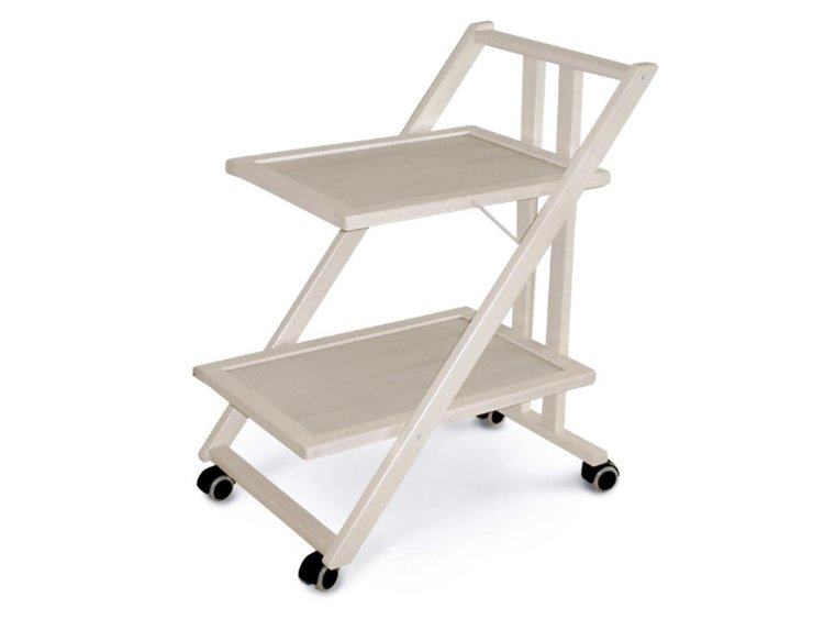 Стол сервировочный складной Arredamenti - SIMPATY WHITENED