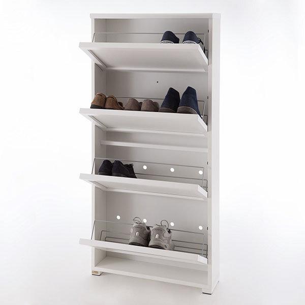 Тумба для обуви 4 ящика Arredamenti - GIOIA BIANCO